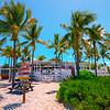 Sharky's Beach Bar From Beach