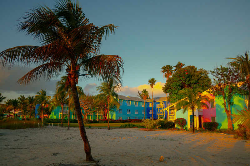 The Color Rooms Along The Beach