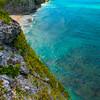 Coastal Foliage Along Middle Caicos - Secret Beach, Mudjin Harbor,  Middle Caicos, Turks And Caicos, Caribbean