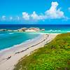 Overlooking The Beach At Mudjin Harbor - Secret Beach, Mudjin Harbor,  Middle Caicos, Turks And Caicos, Caribbean