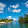 Coming Into The North Caicos Marina - North Caicos, Turks And Caicos, Caribbean