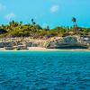 Barren Shoreline - Pine Cay, Turks & Caicos, Caribbean