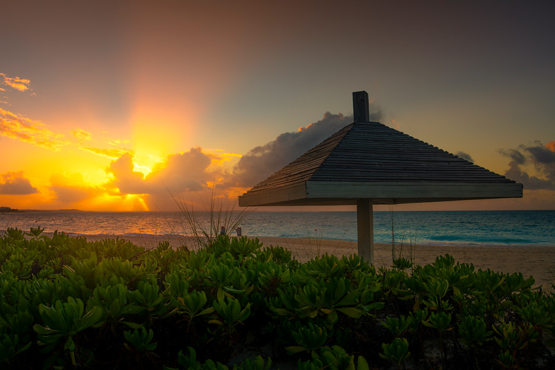 Rays Of Light From Grace Bay