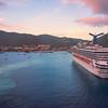 Sunset Reds In St Thomas Harbour -  Charlotte Amalie , St. Thomas, US Virgin Islands