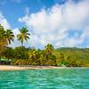 Magens bay Beach From The Caribbean Sea