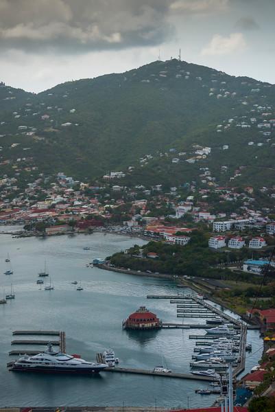 Thunder Heads Above St Thomas -  Charlotte Amalie , St. Thomas, US Virgin Islands
