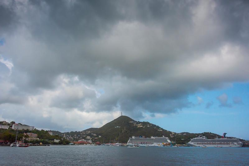 Ships In Port In St Thomas -  Charlotte Amalie , St. Thomas, US Virgin Islands