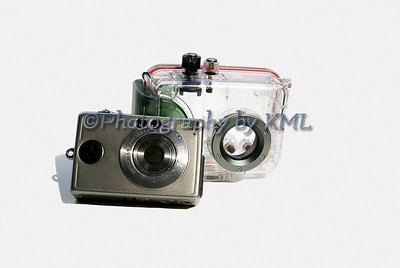 camera and underwater case
