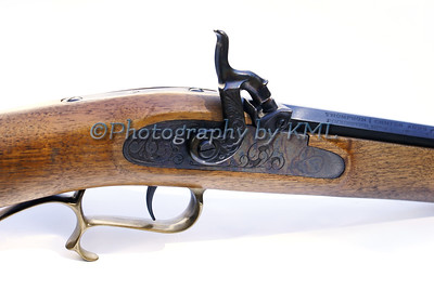 the trigger of a muzzle loader rifle