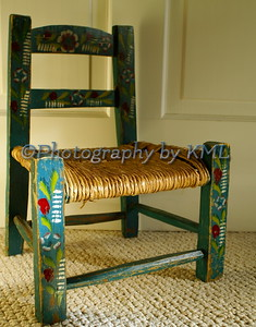 Antique Stenciled Chair