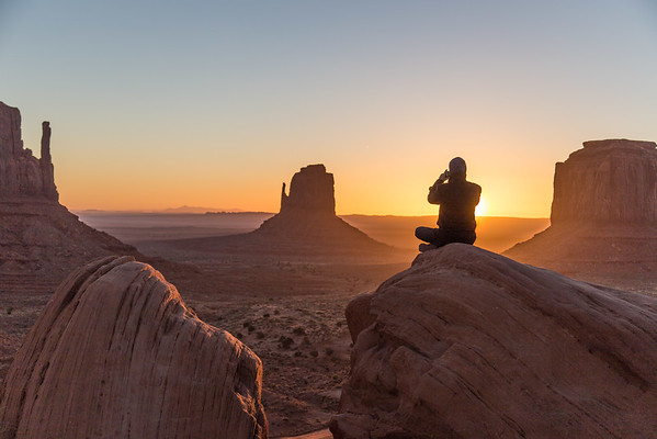 A New Day in Monument Valley