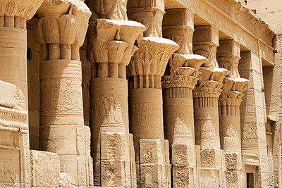 Temple at Philae, Aswan, Egypt