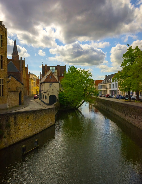 Along The Backroads Of Brugge