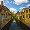 Convergence Of Houses Along The Canals