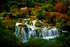 Autumn Moments Of Flowing Waterfalls - Krka National Park, Split, Croatia