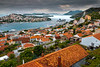 Looking Over The Dubrovnik Marina And Hillside - Dubrovnik, Croatia