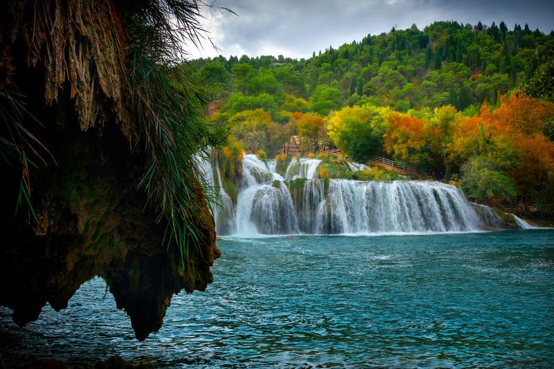 From Underneath The Caves - Krka National Park, Split, Croatia