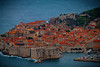 Higher Perspective Of The Old Town Of Dubrovnik - Dubrovnik, Croatia