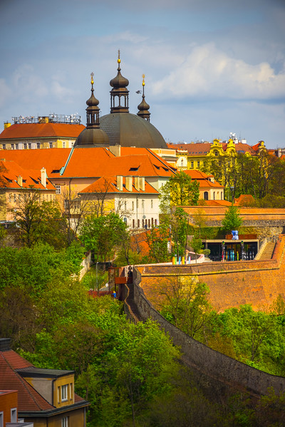 The Walls To The City Of Prague