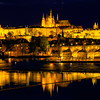 The Prague Castle Late At Night