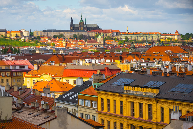 A View From The Top Of Prague