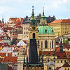 The Red Rooftops Of Prague