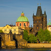 Charles Bridge And The Tower In Morning Light