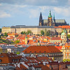 Looking At The City Of Prague From High