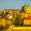 Morning Light On Other Side Of Charles Bridge