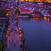 Charles Bridge During Twilight