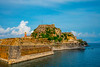 The Old Fortress At The Edge Of Town - Corfu, Greece