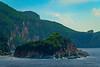 Huge Outcrop Rocks Along The Corfu Coast -  Corfu, Greece