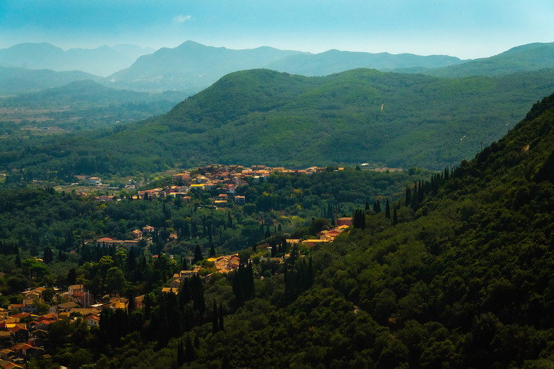 Up High In The Hills Of Corfu - Corfu, Greece