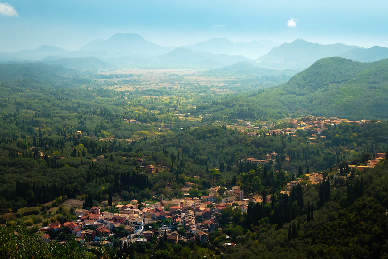 Inside The Mountain Valleys Of Corfu - Corfu, Greece