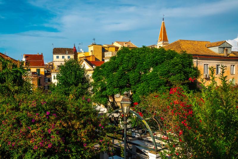 The Old Town Square Of Corfu - Corfu, Greece