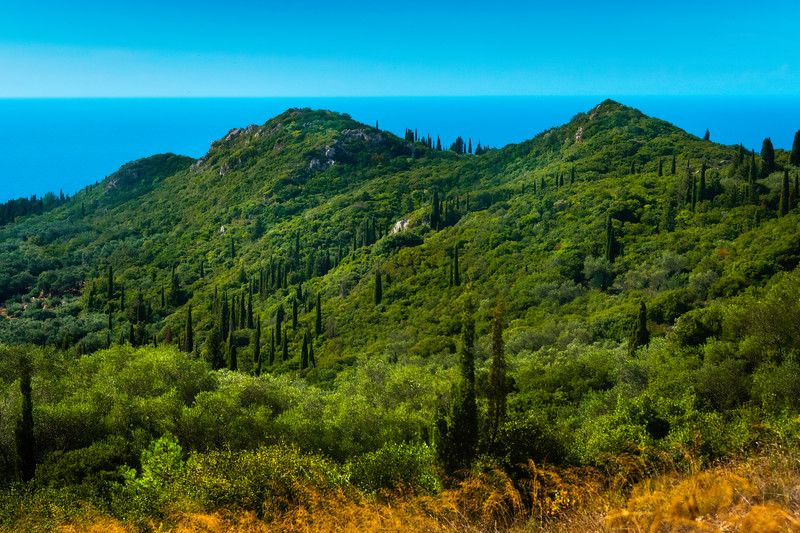 Dreams Of Rolling Green Hills And Valleys - Corfu, Greece