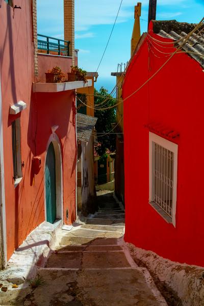 The Pathways Of Villages In Corfu - Corfu, Greece