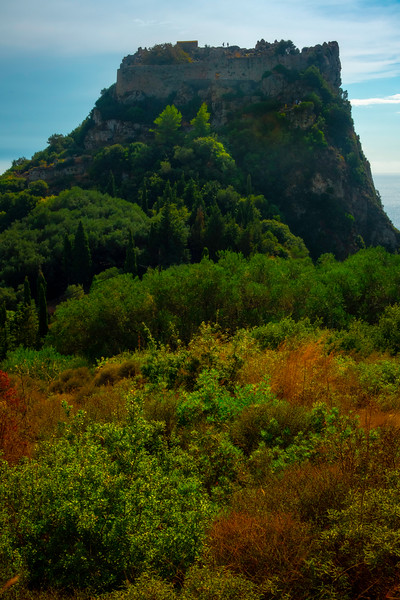 King Of The Castle - Corfu, Greece