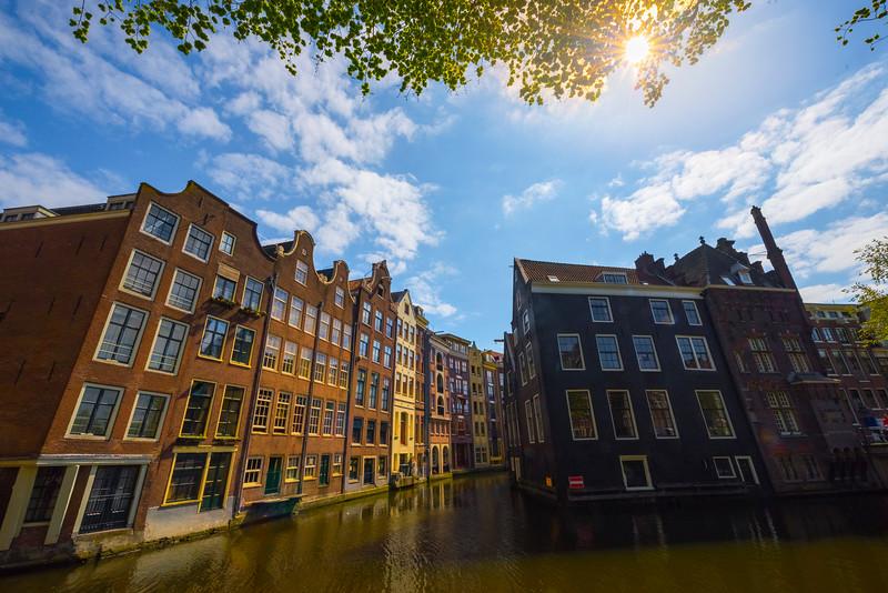 The Unique Buildings Along The Canals