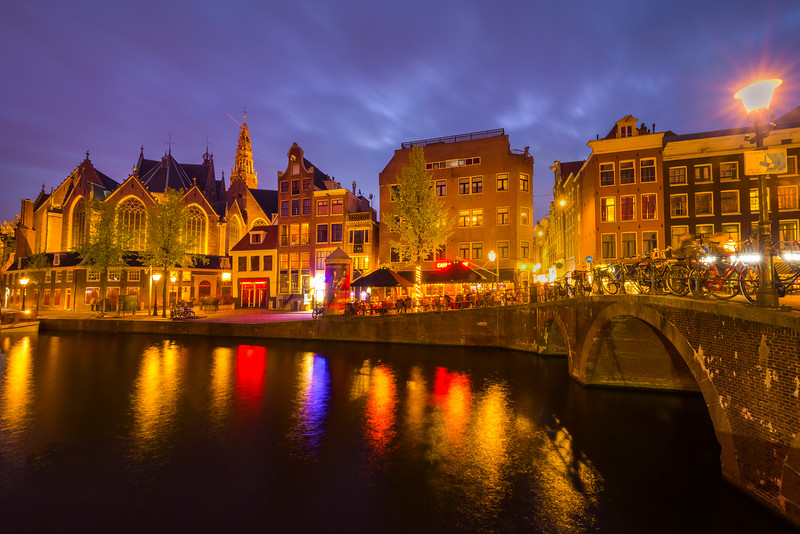 Night Life Along The Canals