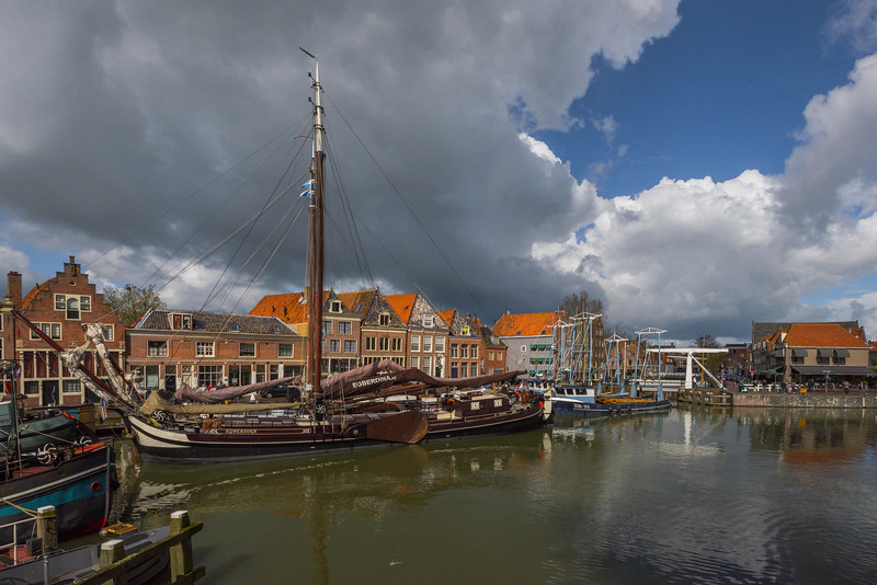 Unique Ships In Hoorn Marina