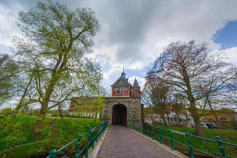 The Gates Into The City Of Hoorn