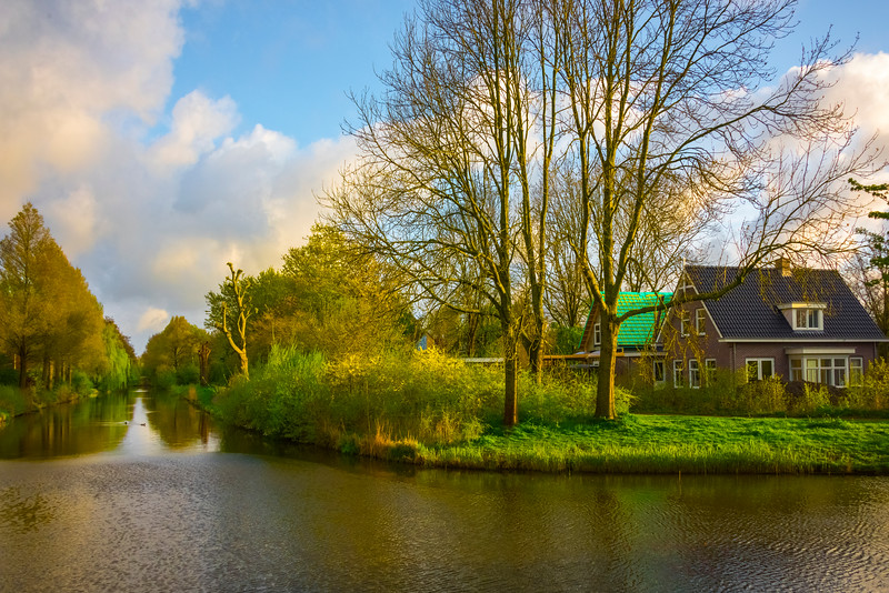 The Inner Waterways Of Holland