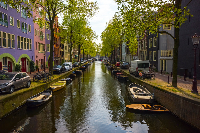 The Working Canals Of Amsterdam