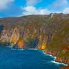 The Slieve League Coast Cliffs , Donegal County, Ireland, Republic Of Ireland
