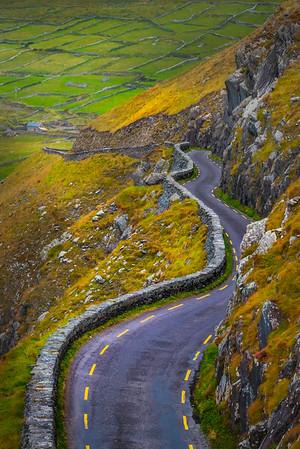 The Curvy Roads Of The Dingle - The Dingle Peninsula, County Kerry, Ireland