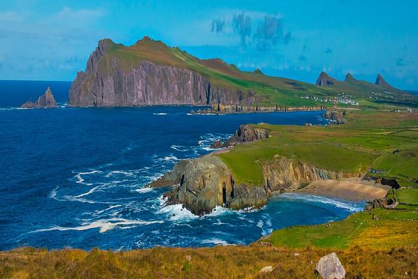 The Headlands Of The Dingle Peninsula  - The Dingle Peninsula, County Kerry, Ireland