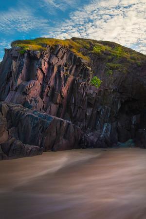 Iridescent Rocks Alive - Dingle Bay, Dingle, County Kerry, Ireland