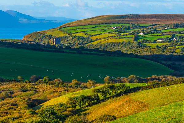 The Vast Green Meadows Of Ireland - The Dingle Peninsula, County Kerry, Ireland