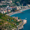A View Of The Ins And Outs Of The Amalfi Coastline - Ravello, Amalfi Coast, Campania, Italy